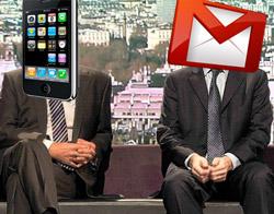 Google iPhone'a gmail app mı yapıyor?