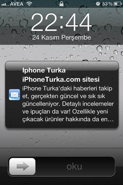 iOS 5 email ön izlemesinin satır sayısı nasıl değiştirilir