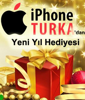 iPhone Turka'dan Yeni Yıl Hediyesi