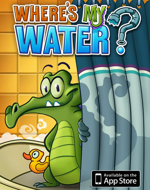Apple'dan Bedava iPhone App: Where's My Water?