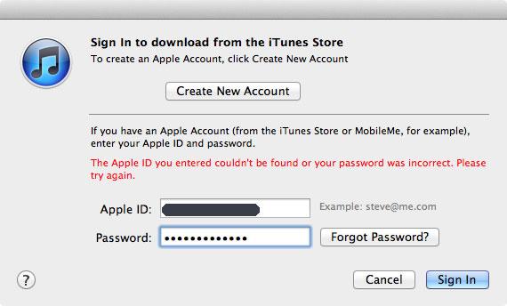 iTunes ve iCloud ID ile girişlerde kesinti yaşandı