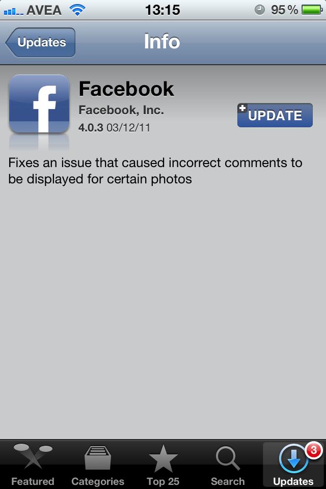 Sonunda Facebook uygulamasındaki yorum sorunu giderildi