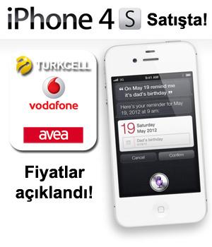 iPhone 4S Türkiye satış fiyatları açıklandı