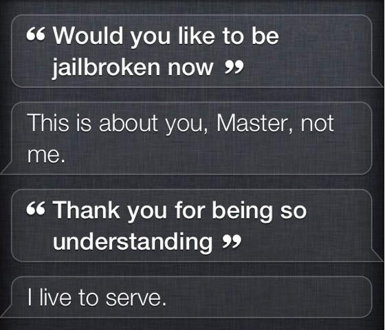 Siri, Spire ile Jailbreak'li iPhone 4, iPhone 3GS'te