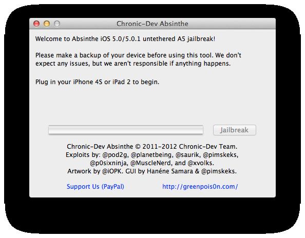 iOS 5 ve iOS 5.0.1'li iPad 2 nasıl Untethered Jailbreak yapılır?