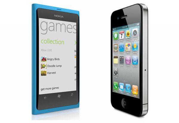 iPhone ve Nokia Lumia 800 hız karşılaştırması