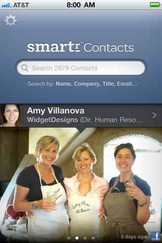 Smartr ile Kişiler Uygulaması Oldukça akıllı