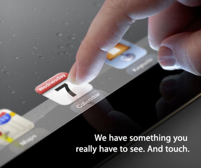 Apple resmen iPad 3'ü 7 Mart Çarşamba günü tanıtacağını açıkladı, ipuçları burada!