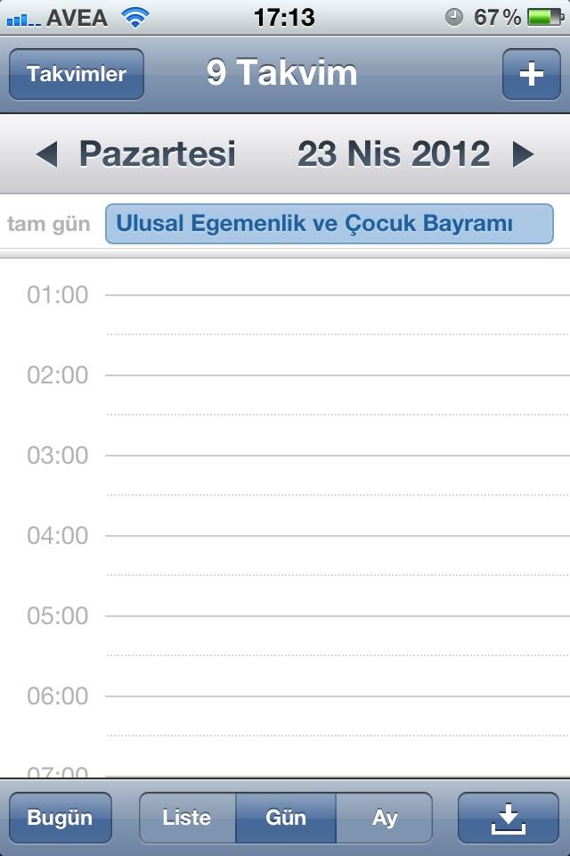 Türkiye Resmi Tatil ve Dini Bayramları iPhone Takvim'e nasıl eklenir