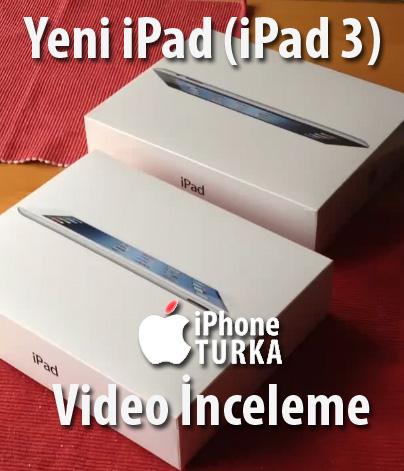 Yeni iPad dünyayla aynı anda elimizde, video incelemelerimiz başlıyor!