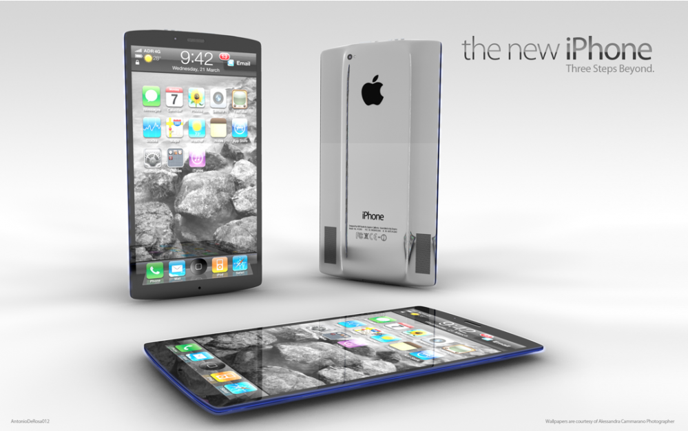 iPhone 5 Tasavvur