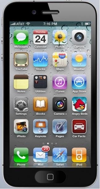iPhone 5 ekranı daha büyük olacak mı?