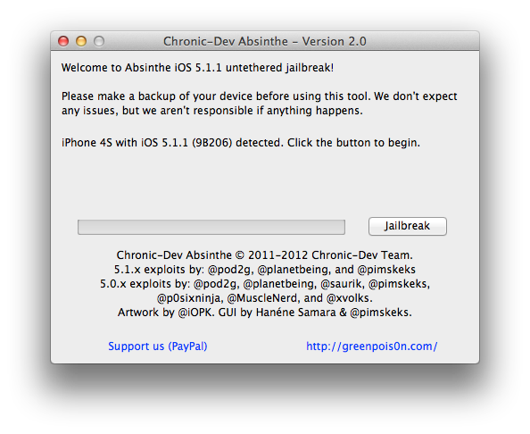 iOS 5.1.1′li iPhone 3GS, 4 ve 4S nasıl Untethered Jailbreak yapılır? (Mac versiyonu)
