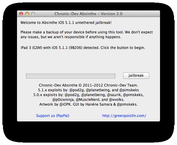 iOS 5.1.1′li iPad 3, iPad 2 ve iPad 1 nasıl Untethered Jailbreak yapılır? (Mac versiyonu)