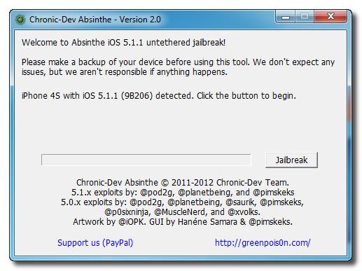 iOS 5.1.1′li iPhone 3GS, 4 ve 4S nasıl Untethered Jailbreak yapılır? (Windows)