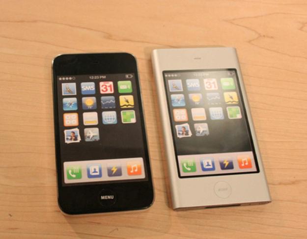 2006 yılından orijinal iPhone tasarımları