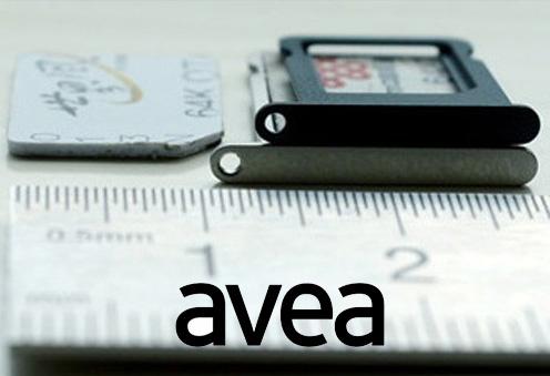 iPhone 5 için Nano Sim kart Türkiye'de ilk kez 17 Eylül'de Avea'dan geliyor