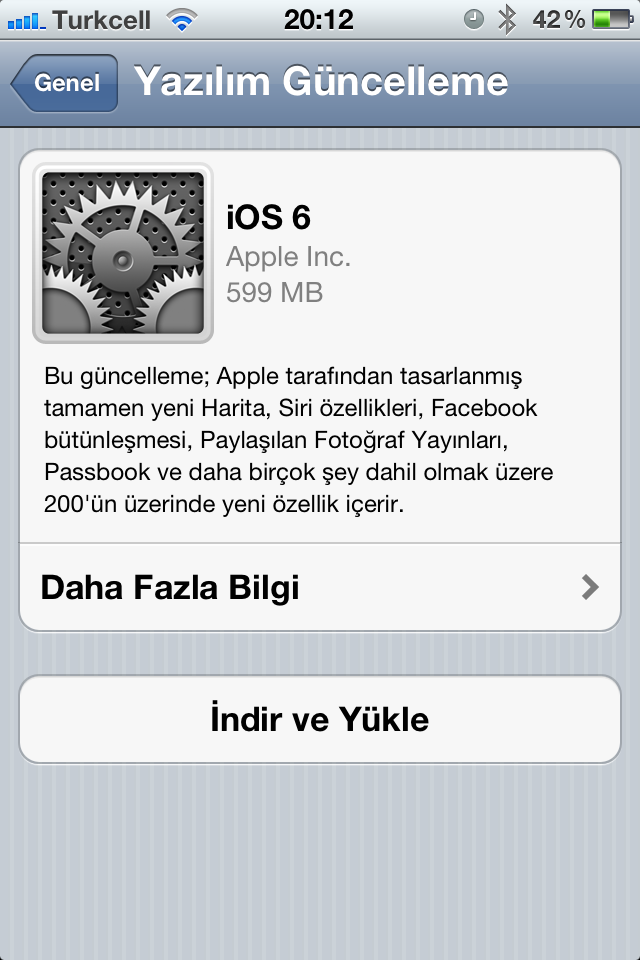 A'dan Z'ye Tüm iOS 6 Özellik Listesi