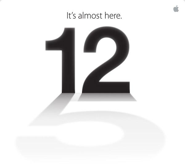 iPhone 5 resmen 12 Eylül'de tanıtılıyor, yine canlı anlatımla sizlerleyiz!