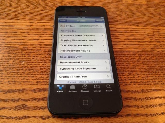 iPhone 5 çıktığı gün Jailbreak yapıldı!