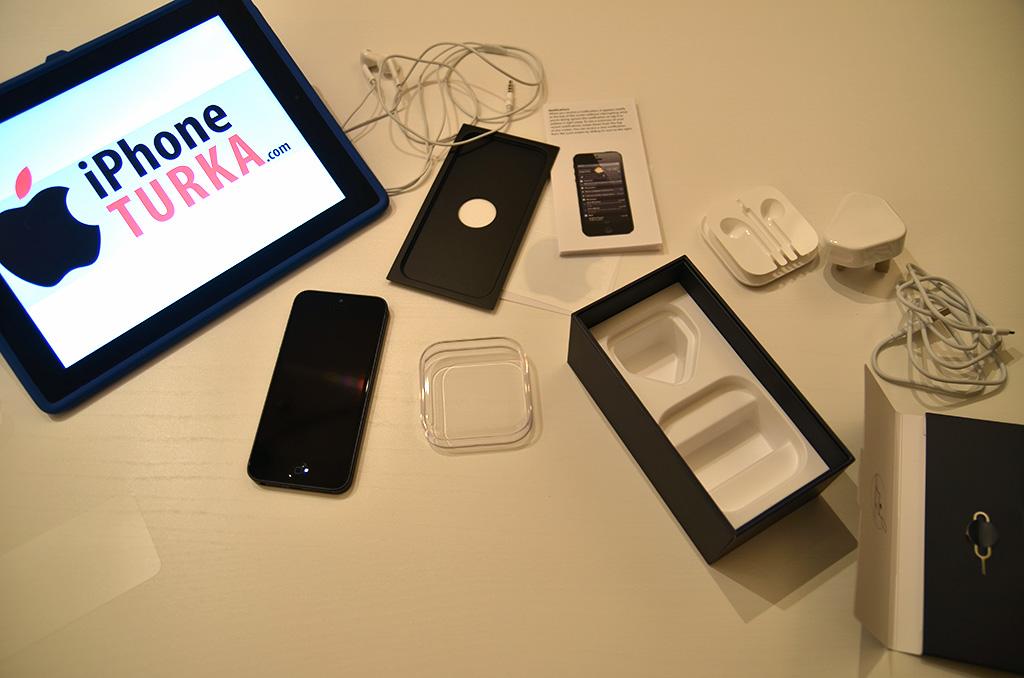 iPhone 5 Kutu Açılımı Türkiye'de ilk kez!