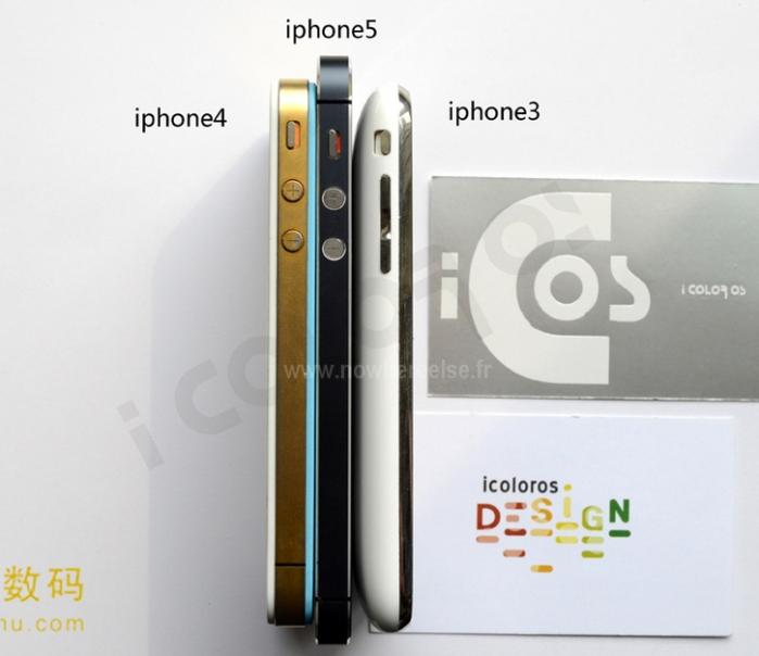 iPhone 5, iPhone 4s ve iPhone 3GS karşılaştırması