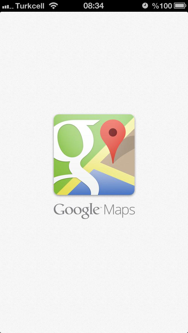 Google Maps iPhone Uygulaması nihayet çıktı!