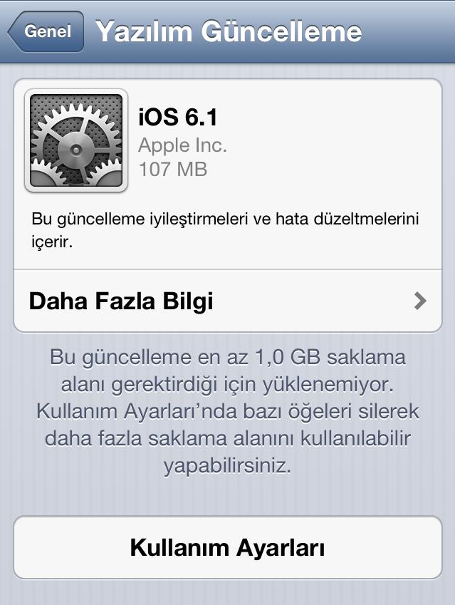 Son dakika! iOS 6.1 çıktı, Untethered Jailbreak yolda!