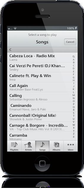 Cydia eklentisi Pluck ile Kilit Ekranındayken şarkı seçin
