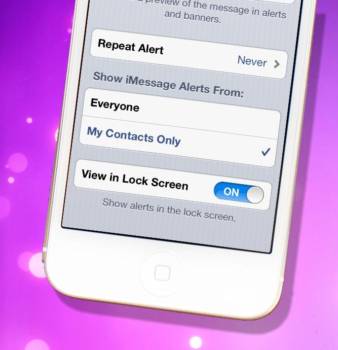 Adres defterinde olmayan birinden gelen iMessage uyarıları nasıl engellenir