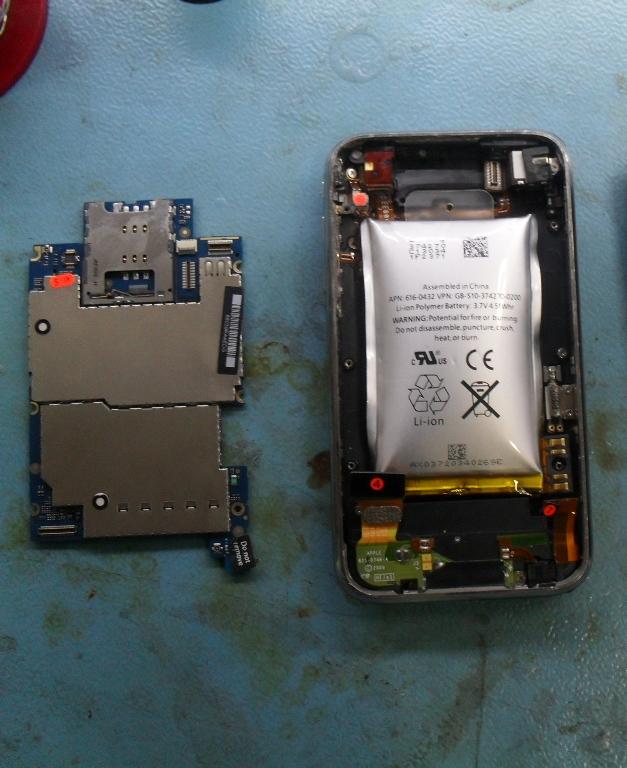 iPhone 3GS'deki pil tehlikesi