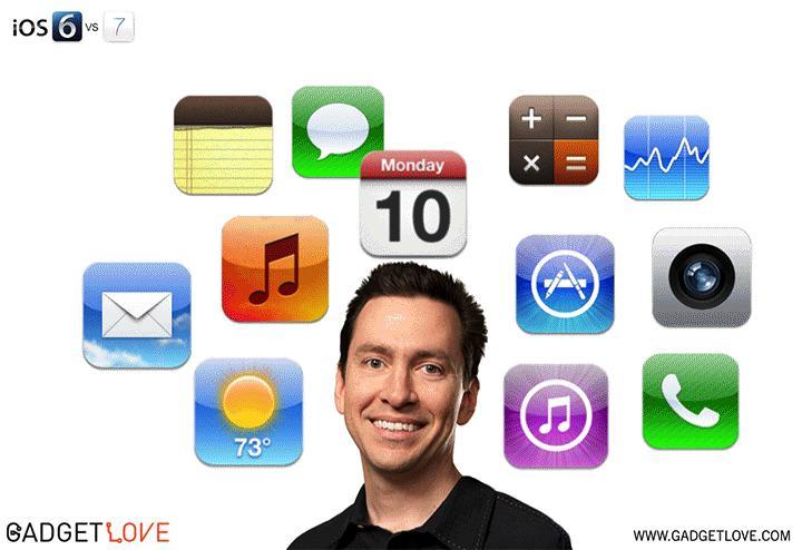 iOS 6 ve iOS 7 uygulamaları arasındaki fark!