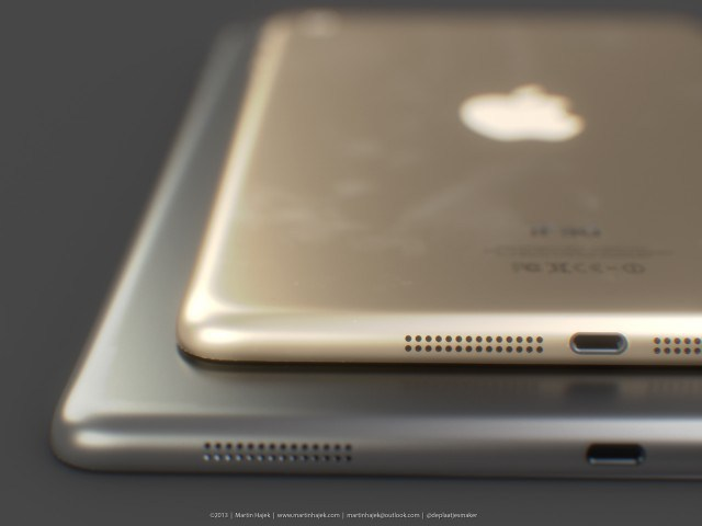 iPad Mini 2'de Uzay girisi ve Altın rengi geliyor?