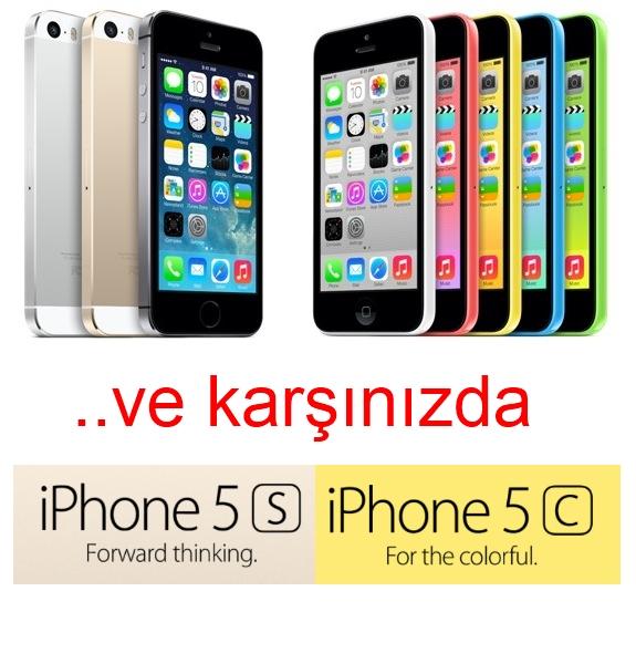 iPhone 5S ve iPhone 5C karşınızda tüm detaylar!