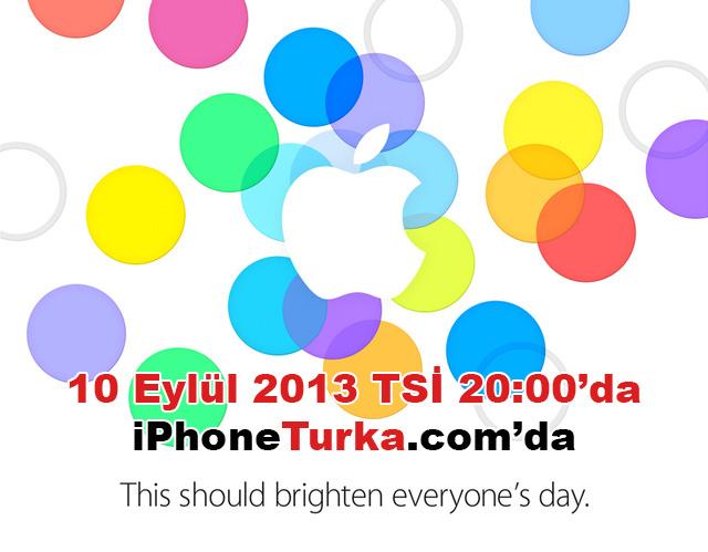 iPhone 5S ve iPhone 5C, 10 Eylül'de Lansmandan Canlı Anlatım!