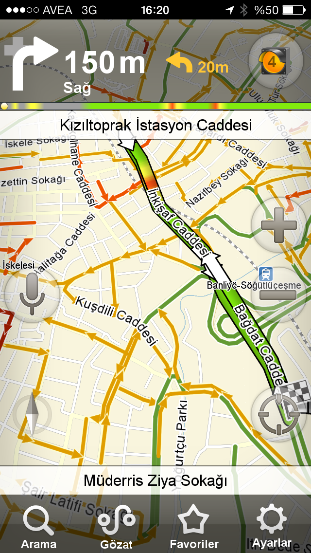 Sesli Arama ile Yandex Navigasyon Bedava!