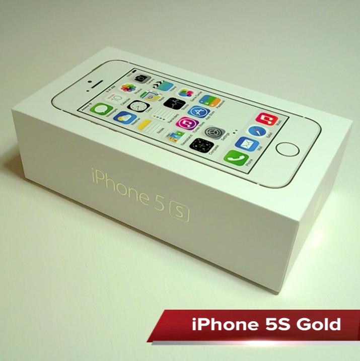 iPhone 5S Gold Video İnceleme ve Görsel Karşılaştırma
