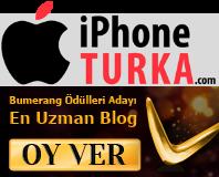 Bumerang Ödülleri oylamasında iPhoneTurka'ya desteğinizi bekliyoruz!