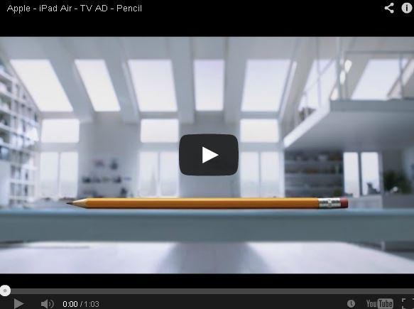 İlk iPad Air TV reklamı yayınlandı, seslendiren kişiyi tanıdınız mı?
