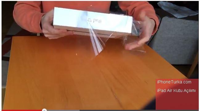iPad Air Kutu Açılımı