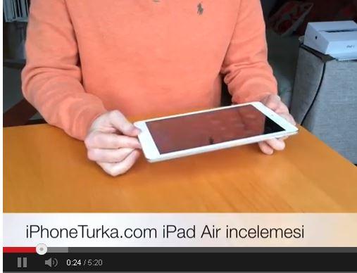 iPad Air Video incelemesi
