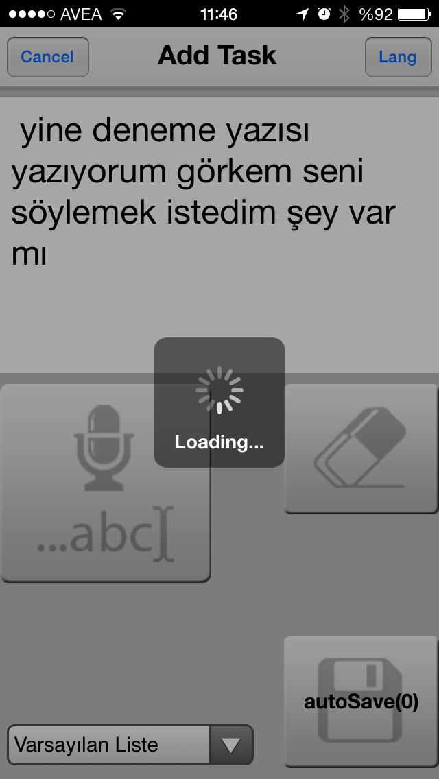 Türkçe Sesli notlar ve tasklar için Siri yerine iGoogleKeep
