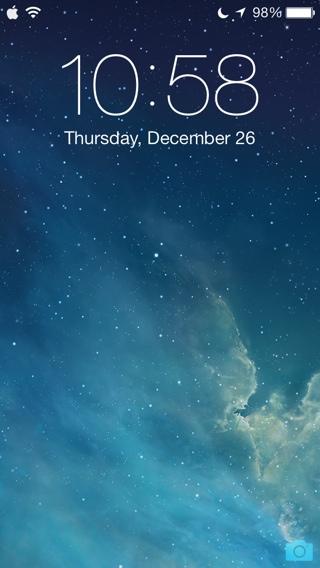 iOS 7 Kilit Ekranı için TabLess ve Simplock Jailbreak eklentileri