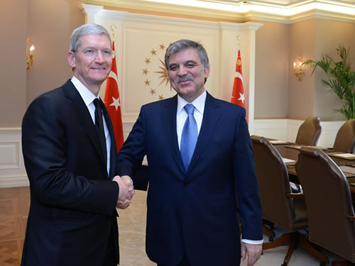 Abdullah Gül ve Tim Cook görüşmesinden önemli detaylar