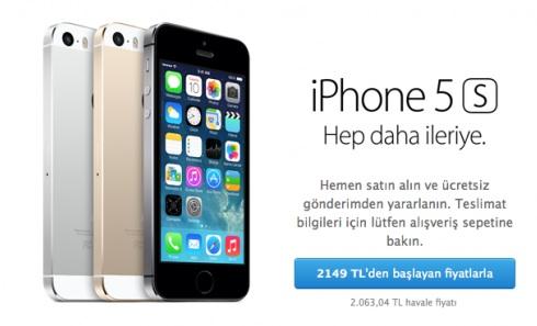 Cep telefonlarında taksitle satış dönemi son erdi! Tek çekimle iPhone 5S 2,149TL