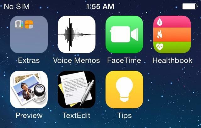 iOS 8'den ilk görüntüler