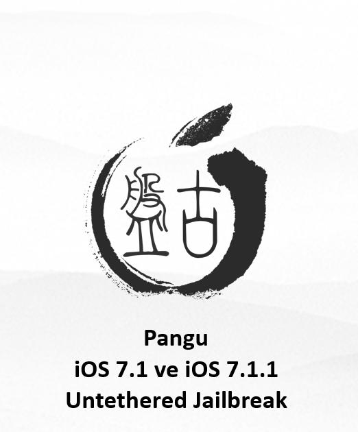 iOS 7.1 – iOS 7.1.1'li iPhone 5S, 5C, 5, 4s ve 4 Pangu ile nasıl Untethered Jailbreak yapılır!