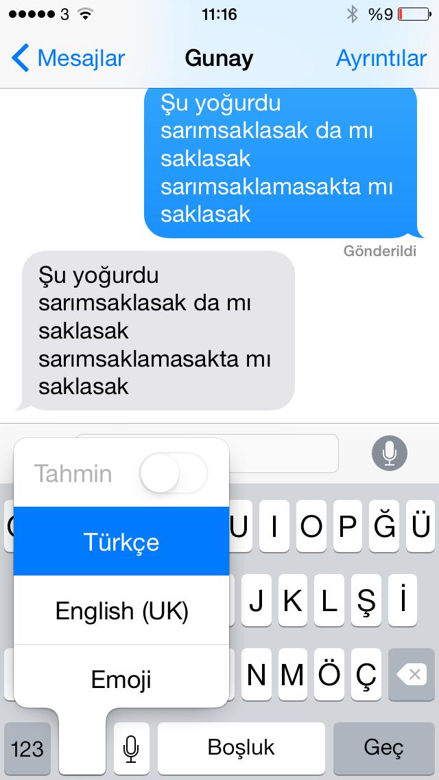 iOS 8'de Türkçe dikte nasıl çalışıyor – video haber