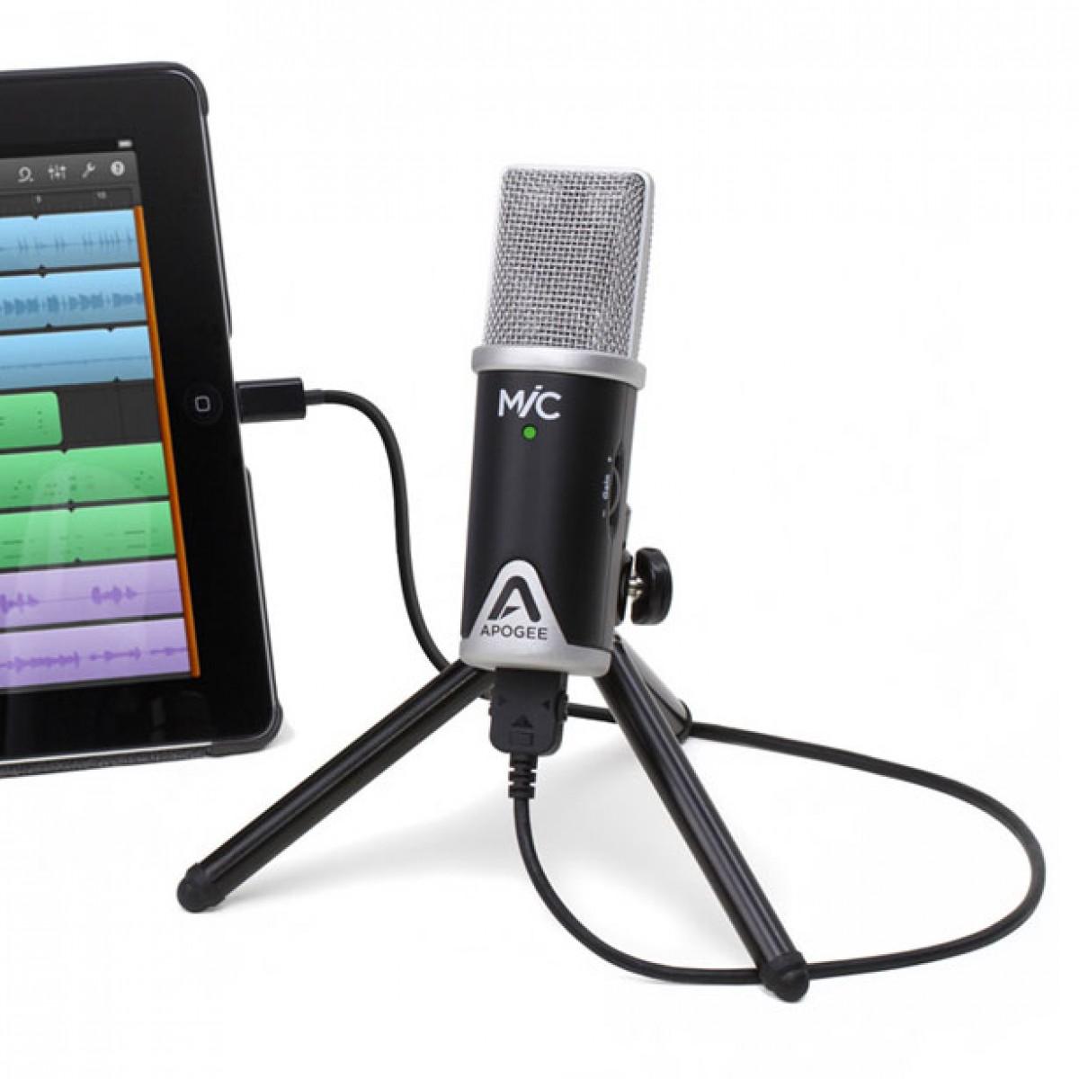 iPhone ve iPad Mikrofonu: Apogee Mic 96K İnceleme