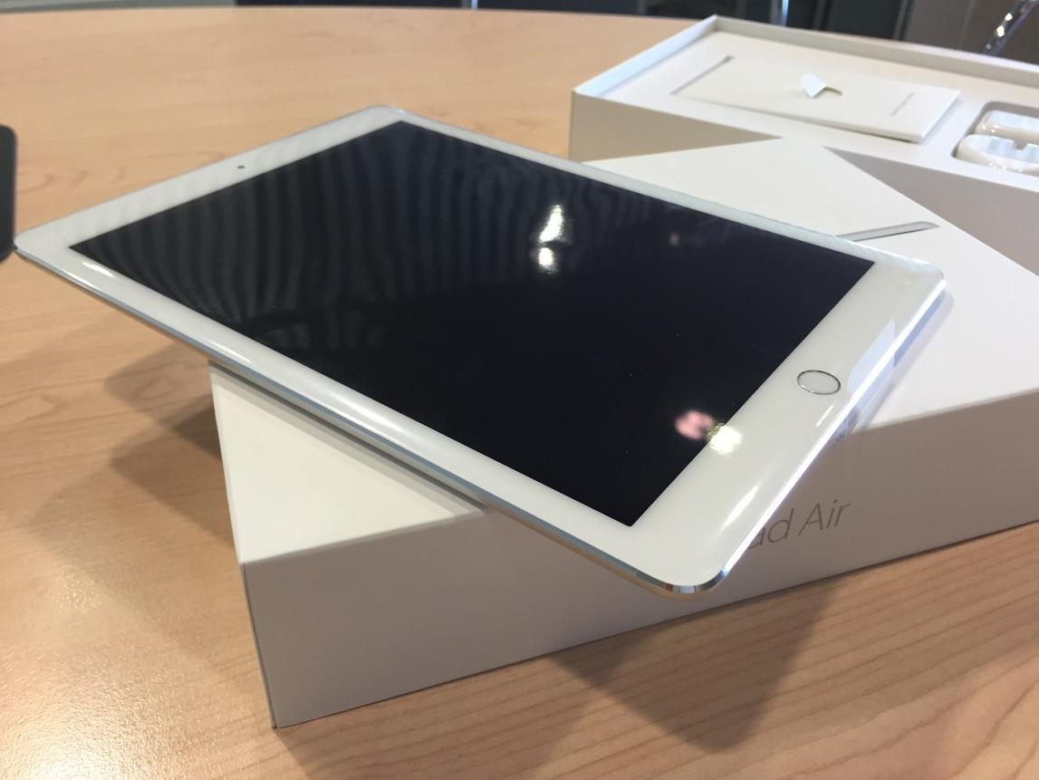 iPad Air 2 ilk Türkçe Kutu Açılımı ve Görsel İnceleme